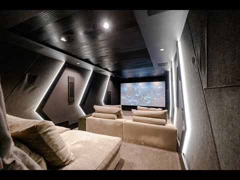 Amazing Time Lapse of an Atmos Home Cinema Build in Camps Bay, Cape Town