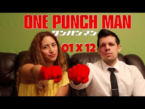 One Punch Man Season 1 Episode 12 REACTION!