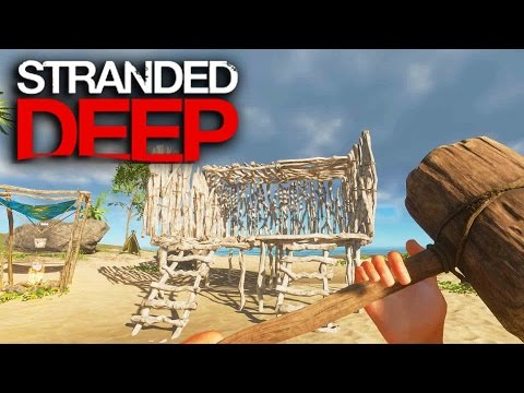 Stranded Deep | Survival Part 5 | LEARNING TO BUILD!!