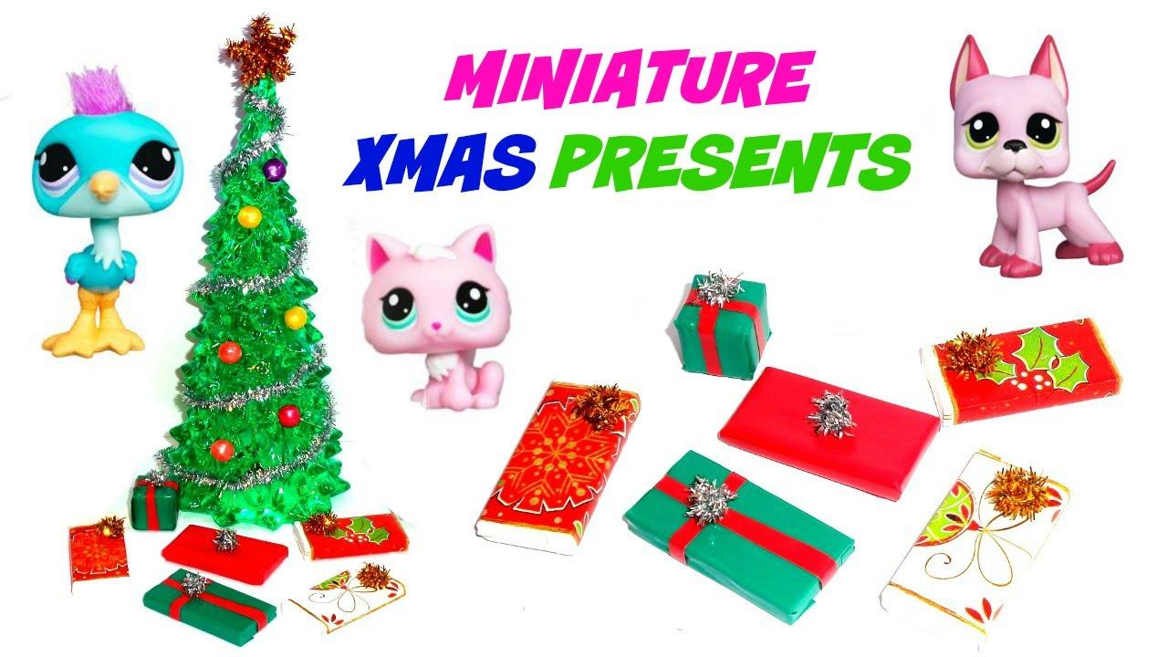 Miniature Presents - DIY LPS Stuff, Crafts & Accessories - YouTube