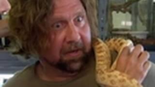 kissing a snake   my extreme animal phobia