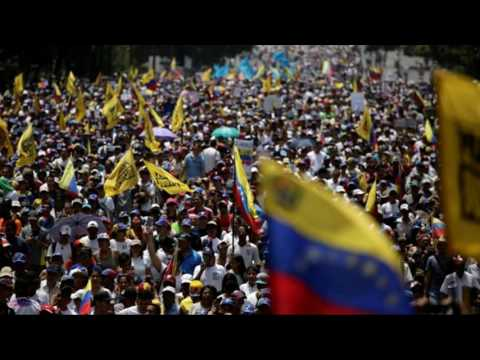 Venezuela crisis: Opposition holds 'mother of all protests'