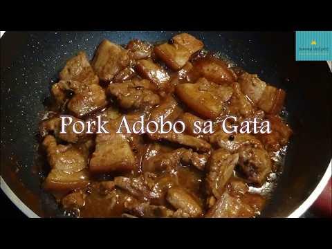 Pork Adobo sa Gata