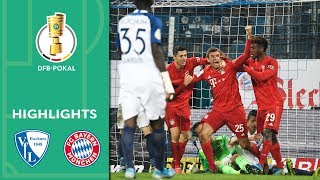 Enjoy the highlights of vfl bochum vs. fc bayern munich from 2nd round dfb-pokal 2019/20.goals: 1-0 davies (36' og), 1-1 gnabry (83'), 1-2 müller ...