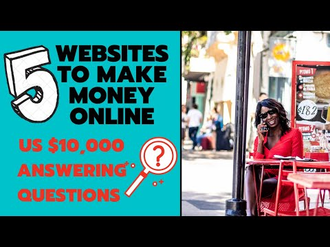Make Money Online Answering Questions | Up To US$ 10,000 | Kenyan YouTuber | Works Worldwide