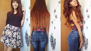 How To: Dye Ombre (Balayage) on Hair Extesions Tutorial (3 COLORS) Thumbnail