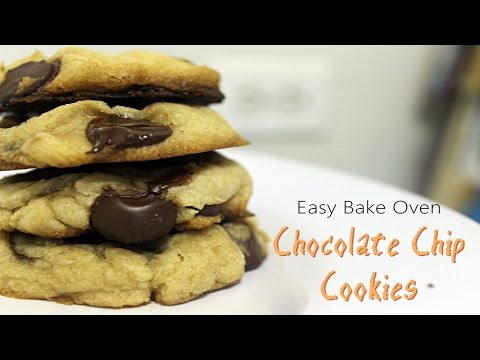 Easy Bake Oven ~ Chocolate Chip Cookies
