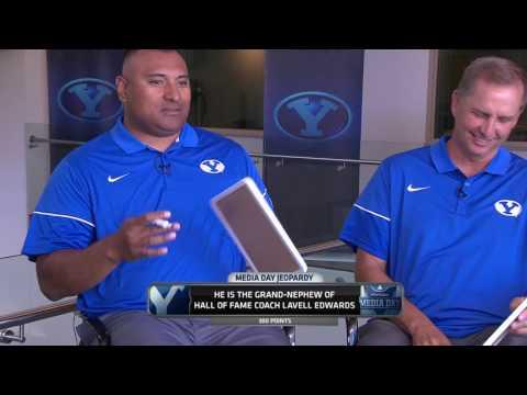 Coach Sitake and Coach Detmer on BYU Media Day 2017
