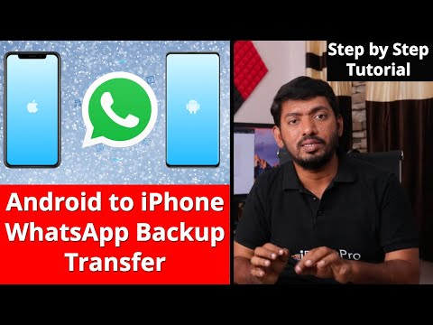 How To Transfer WhatsApp From Android To IPhone? [100% Working]