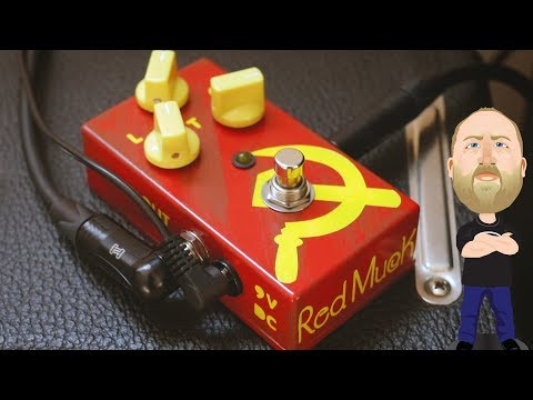 JAM Pedals Red Muck - Demo