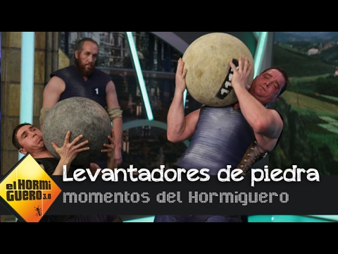 Lopetegui adivina cuáles son levantadores de piedra - El Hormiguero 3.0