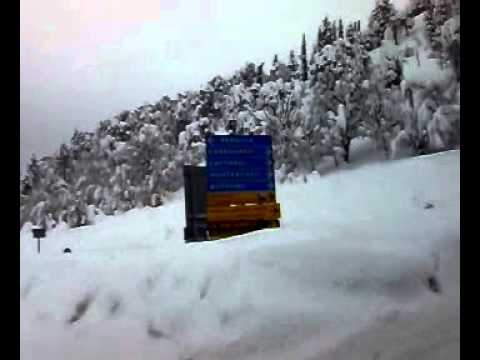 Neve febbraio 2012 Serra Sant'Abbondio Frontone Fonte Avellana