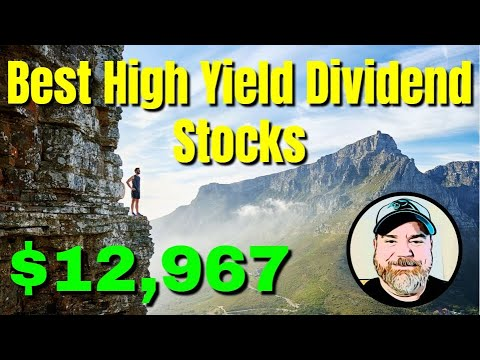 Best High Yield Dividend Stocks | Dividend Investing | Investing in Stocks