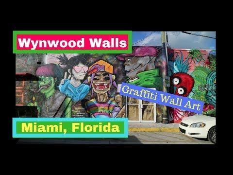 Wynwood Walls [Urban  Graffiti Art] Miami, Florida