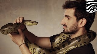 anaconda eats man paul rosolie eaten alive by giant snake on discovery s new show