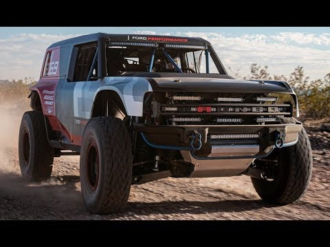 2020 Ford Bronco R Race Preview - SEMA SHOW 2019
