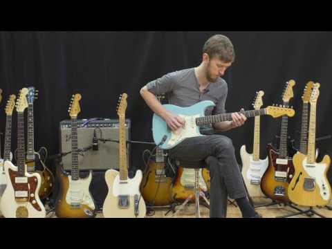 1964 Daphne Blue Mahogany Body Fender Stratocaster - Atoyboy Guitars