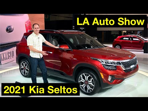 2021 Kia Seltos Walkaround Review