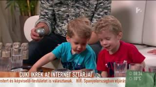 Sági Szilárdnak az ikrek segítenek a felkészülésben - tv2.hu/mokka