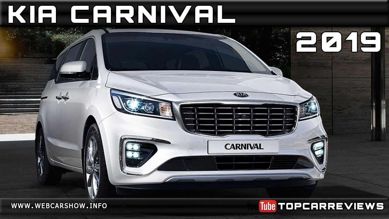 2019 Kia Carnival Review Rendered Price Specs Release Date Youtube