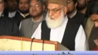 asrar ahmed raja special report on life of qazi hussain ahmed
