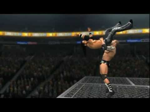 WWE '12 - Batista Bomb From Top Of Hell In A Cell