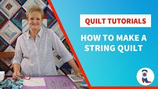 How to Make A String Quilt (Tutorial)