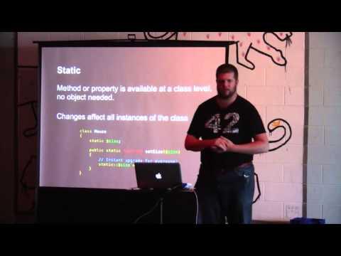 Beginning OOP in PHP