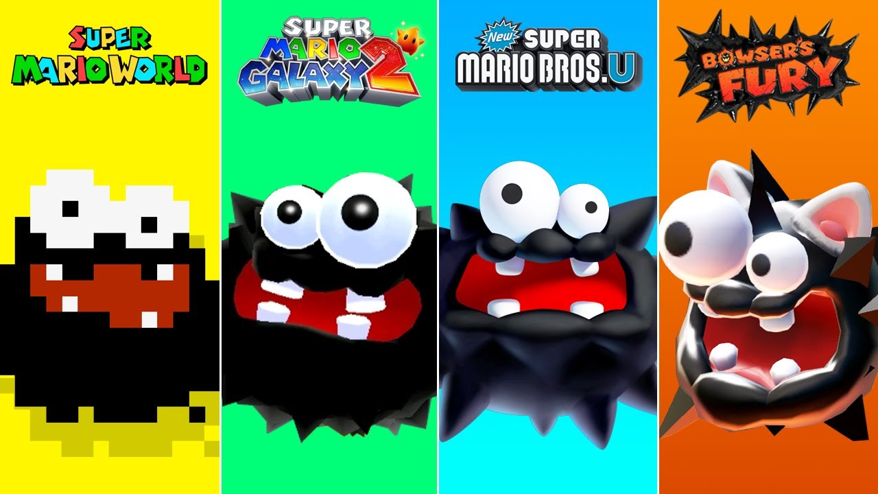 Evolution of Fuzzy in Super Mario Games (1990-2021)