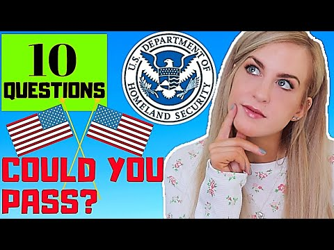 QUIZ: 10 questions- Irish Person takes USA Citizen Test - COULD YOU PASS?