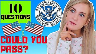 QUIZ:Irish Girl takes the USA Citizen Test - COULD YOU PASS?
