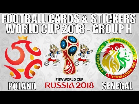 POLAND v SENEGAL ⚽ Group H ⚽ Football Cards & Stickers FIFA WORLD CUP 2018 ⚽ Panini ⚽ Match #16