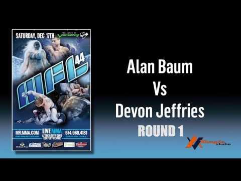 Fight 5  Alan Baum vs Devon Jeffries