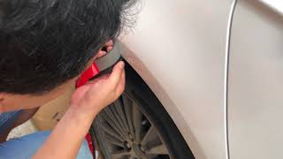 Oyeeice Universal Fender Flares,How to install Oyeeice's fender flares?
