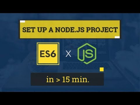Set Up a Starter Node.js/Express Project with ES6 (ft. Babel)