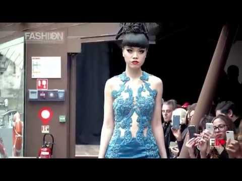 JESSICA MINH ANH Autumn Fashion Show 2015 on Seine River, Paris - Designer Gülnur Güneş by FC