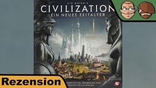 Civilization - Ein neues Zeitalter - Brettspiel – Review