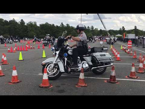 2017 Mid Atlantic Police Motorcycle Rodeo - FAIRFAX COUNTY Rider 2 - G&C