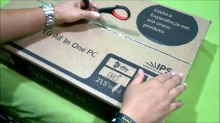 UNBOXING - LG ALL IN ONE PC 22V240