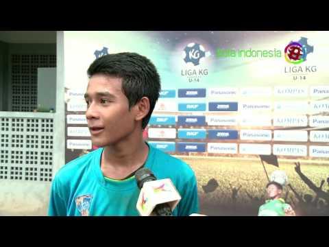 Highlight Liga KG U-14 Panasonic 2015/2016 Pekan ke-25 Bagian ke-2