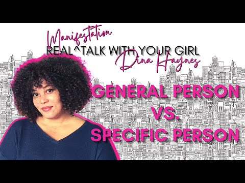How To MANIFEST General Person Vs. SPECIFIC PERSON // Can You Manifest Someone Who Doesn't Know You?