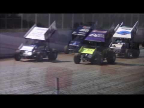 Port Royal Speedway 410 Sprint Car Highlights 5-07-16