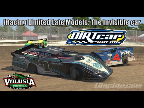 iRacing Limited Late Models: The invisible man at Volusia Speedway Park