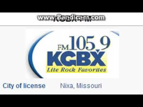"25 Days of Christmas Radio - Day 6: KGBX-FM: ""105.9 KGBX"" Nixa, MO TOTH ID 12pm CT--12/06/15"