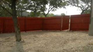 Pulte Homes Fence Staining By Mz-handyman