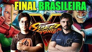 Street fighter V e seus teclados - Grande Final campeonato brasileiro de Street Fighter V