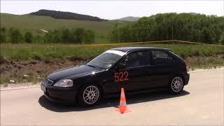 Milos Stevanovic - 2. Autoslalom Glavom do cilja 2019 Zlatibor - Honda Civic 1.6