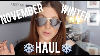 NOVEMBER PREGNANCY STYLE HAUL | MELSOLDERA
