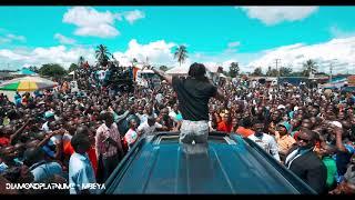 Diamond Platnumz Reception In Mbeya! It's MAD