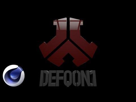 Создание 3D логотипа в Cinema 4D